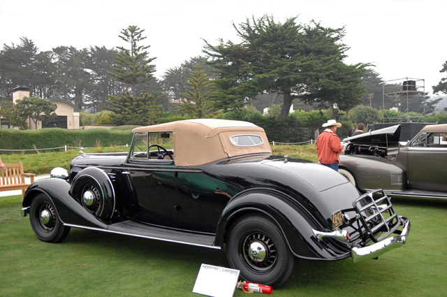 Buick Model Cabrio on 1937 Buick Shafer 8