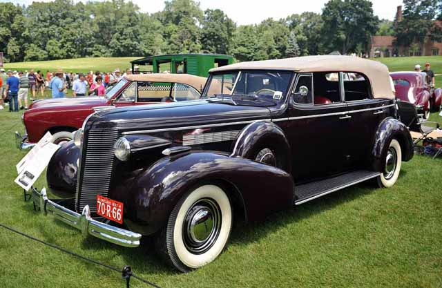 Buick Series Roadmaster on 1937 Buick Shafer 8