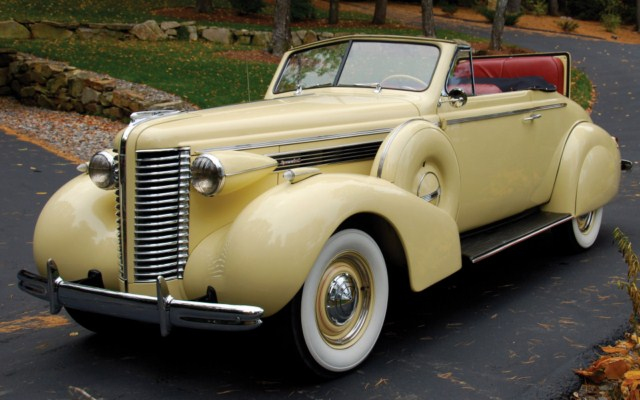 Buick Special Convertible on 1937 Buick Shafer 8