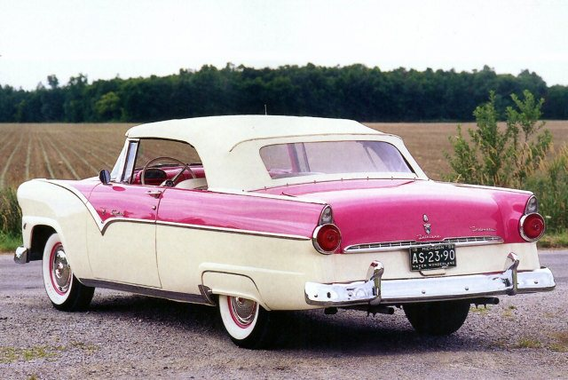 1955 Ford Fairlane Sunliner Convertible Coupe